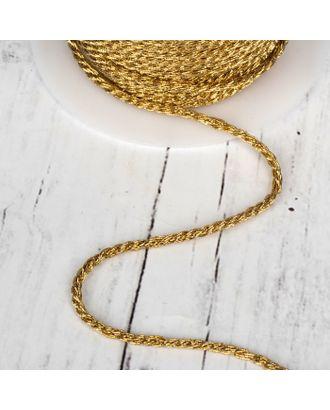 Нить для плетения, d = 3 мм, 15 ± 1 м, цвет серебряный №19 арт. СМЛ-24465-2-СМЛ4108878