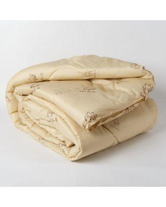 Одеяло Эконом Верблюжья шерсть 140х205 см, полиэфирное волокно, 200г/м2, пэ 100% арт. СМЛ-32813-1-СМЛ4124958