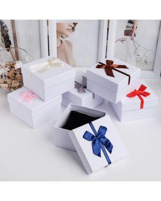 """Коробочка подарочная под набор """"Бантик"""" минимализм, 5*8 (размер полезной части 4,9х7,8см) арт. СМЛ-24269-7-СМЛ4140854"""