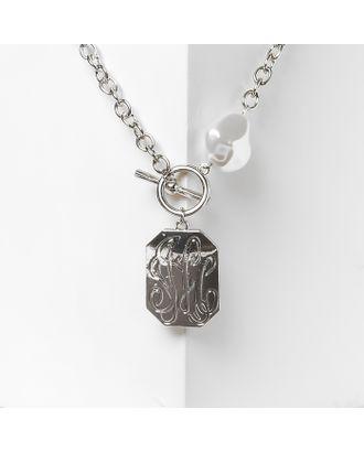 "Кулон ""Герб"" цвет серебро арт. СМЛ-27334-1-СМЛ4149731"
