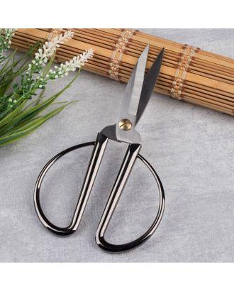 Ножницы портновские, скошенное лезвие, 19 см, цвет серебряный арт. СМЛ-29318-1-СМЛ4150938