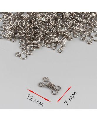 Крючок одежный №1 р.0,7х1,2 см арт. СМЛ-29324-1-СМЛ4157001
