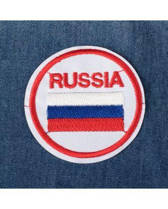 Термоаппликация «Russia» д.6 см арт. СМЛ-27489-1-СМЛ4157854