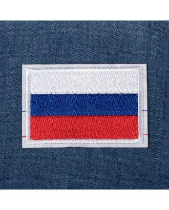 Термоаппликация «Флаг России» р.4х6 см арт. СМЛ-29374-1-СМЛ4157855