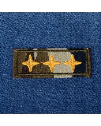 Термоаппликация «Звезды» р.2,5х6,5 см арт. СМЛ-27490-1-СМЛ4157856