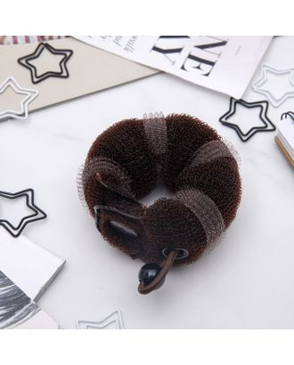 Валик для волос с кнопкой и резинкой арт. СМЛ-20769-1-СМЛ0424486