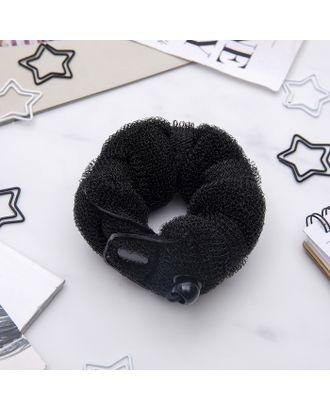 Валик для волос с кнопкой и резинкой арт. СМЛ-20770-3-СМЛ0424488