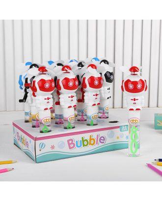 Мыльные пузыри «Робот с пропеллером» 7×6×22 см, МИКС арт. СМЛ-121166-1-СМЛ0004291468