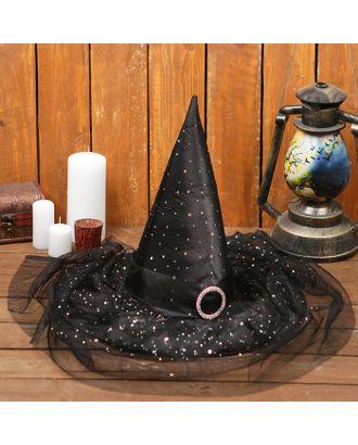Карнавальная шляпа «Волшебница», р-р. 56-58 см арт. СМЛ-68590-1-СМЛ0004292484