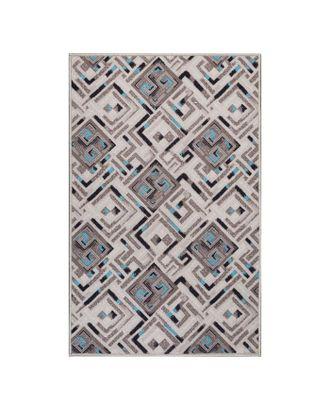 Палас БАРСЕЛОНА, размер 80х125 см, цвет серый 95/25, войлок 195г/м2 арт. СМЛ-33213-3-СМЛ4292538