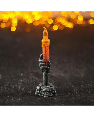 "Свеча световая ""Тьма"" арт. СМЛ-121203-1-СМЛ0004301679"