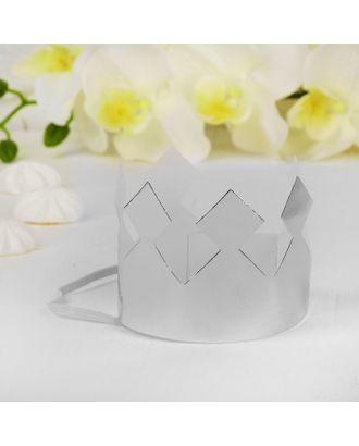 Корона «Король», цвет серебряный арт. СМЛ-100698-1-СМЛ0004329969