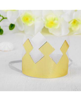 Корона «Король», цвет серебряный арт. СМЛ-100698-2-СМЛ0004329970