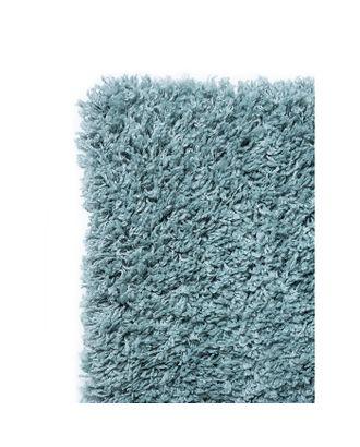 Ковёр прямоугольный Shaggy Viva, 0.6x0.9 м, цвет голубой арт. СМЛ-40319-1-СМЛ0004358676