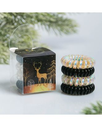 Набор резинок-пружинок для волос «Олень» арт. СМЛ-124900-1-СМЛ0004408531