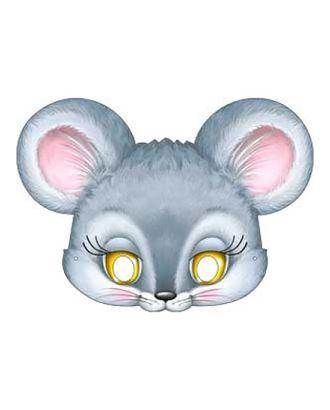 Карнавальная маска «Мышонок», картон, 376 x 178 арт. СМЛ-106619-1-СМЛ0004562135