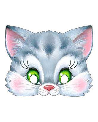 Карнавальная маска «Котёнок», 376 x 178, на резинке арт. СМЛ-106621-1-СМЛ0004562139