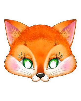 Карнавальная маска «Лисёнок», картон, 376 x 178 арт. СМЛ-106622-1-СМЛ0004562140