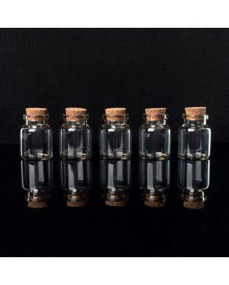 Баночки для хранения бисера d = 3х7,3 см, 5 шт арт. СМЛ-29236-2-СМЛ0004693510