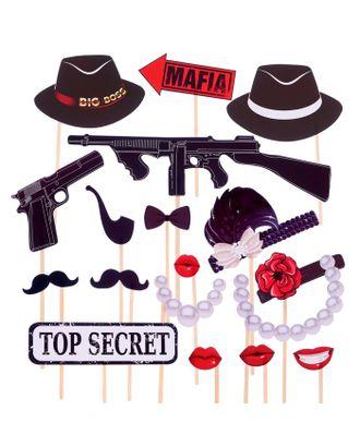 """Набор для фотосессии """"Mafia Party"""" арт. СМЛ-121503-1-СМЛ0004774960"""