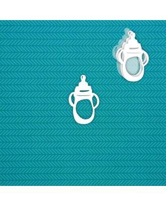 """Шейкер """"Бутылочка"""" (маленький) 4,2 х 6,7 см, набор 5 деталей арт. СМЛ-121555-1-СМЛ0004790492"""