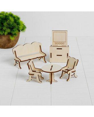 Конструктор «Гостиная» набор мебели 6 позиций арт. СМЛ-77725-1-СМЛ0004807728