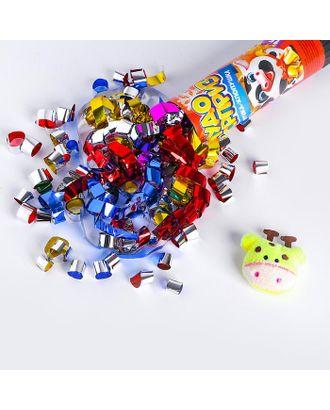 """Хлопушка с игрушкой """"Чудо-сюрприз"""", новогодняя серия арт. СМЛ-109192-1-СМЛ0004857960"""