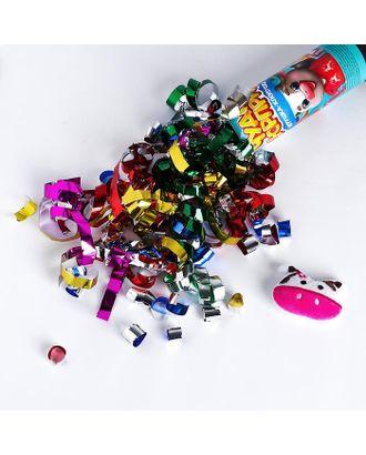 """Хлопушка с игрушкой """"Чудо-сюрприз"""", новогодняя серия арт. СМЛ-109194-1-СМЛ0004857962"""