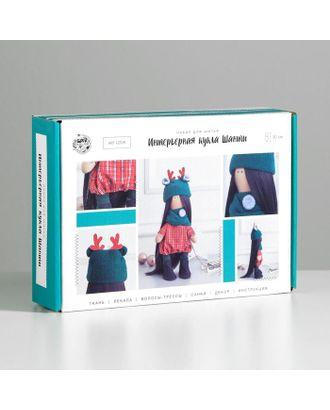 Интерьерная кукла «Шанти» набор для шитья, 15,6х22,4х5,2 см арт. СМЛ-38835-1-СМЛ0004922072