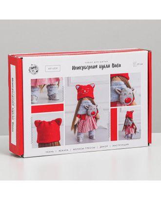 Интерьерная кукла «Виви» набор для шитья, 15,6х22,4х5,2 см арт. СМЛ-39053-1-СМЛ0004922081