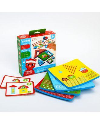 """Детский развивающий игровой набор """"Новогодний городок"""" EVA+карточки арт. СМЛ-111161-1-СМЛ0004967953"""