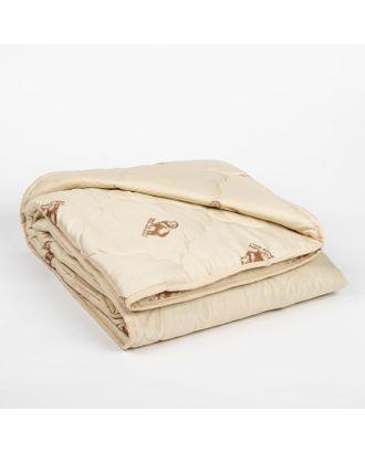 """Одеяло всесезонное Адамас """"Овечья шерсть"""", размер 140х205 ± 5 см, 300гр/м2, чехол п/э арт. СМЛ-32940-1-СМЛ0497451"""