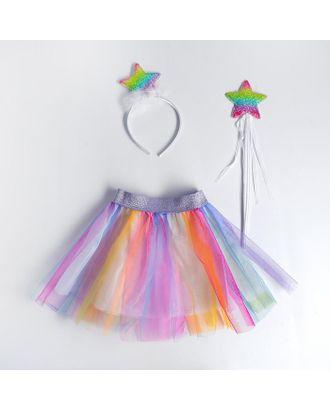 Карнавальный набр «Звёздочка», ободок, юбка, жезл арт. СМЛ-123161-1-СМЛ0005010798