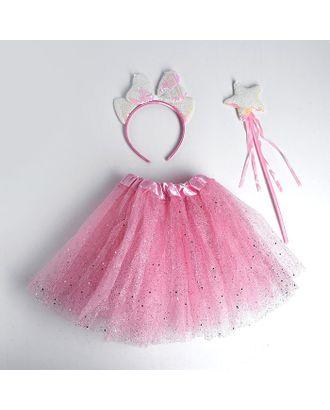Карнавальный набор «Ушки», ободок, жезл, юбка арт. СМЛ-123168-1-СМЛ0005010806
