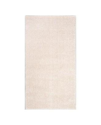 Ковер прямоугольный Веста 46102_45022 80х150 см, белый, ворс 20 мм, 100% ПП арт. СМЛ-100678-1-СМЛ0005037314