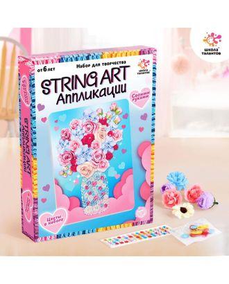 Набор для творчества «String art аппликация» арт. СМЛ-122428-1-СМЛ0005043403