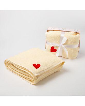 Полотенце детское подарочное «Крошка Я» 100х150 см, цвет бирюзовый, 340 гр/м2 арт. СМЛ-35538-2-СМЛ0005043513