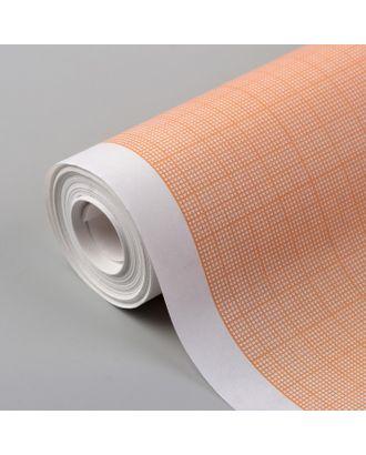 Масштабно-координатная бумага, 60 г/кв.м, 64 см, 10 м, цвет оранжевый арт. СМЛ-35140-1-СМЛ0005074937