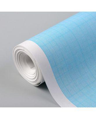 Масштабно-координатная бумага, 60 г/кв.м, 64 см, 10 м, цвет голубой арт. СМЛ-35142-1-СМЛ0005074939