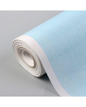 Масштабно-координатная бумага, 60 г/кв.м, 64 см, 20 м, цвет голубой арт. СМЛ-35143-1-СМЛ0005074940