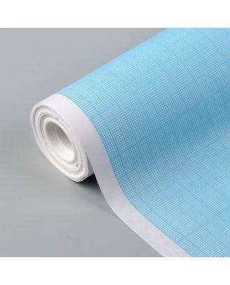 Масштабно-координатная бумага, 60 г/кв.м, 87 см, 10 м, цвет голубой арт. СМЛ-35144-1-СМЛ0005074941