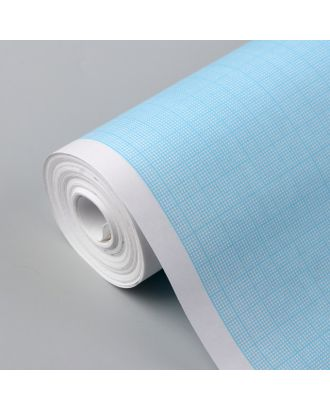 Масштабно-координатная бумага, 60 г/кв.м, 87 см, 20 м, цвет голубой арт. СМЛ-35145-1-СМЛ0005074942