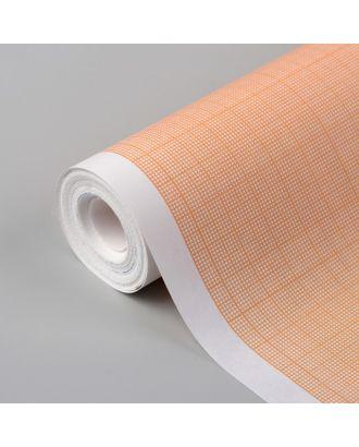 Масштабно-координатная бумага, 60 г/кв.м, 87 см, 10 м, цвет оранжевый арт. СМЛ-35146-1-СМЛ0005074943
