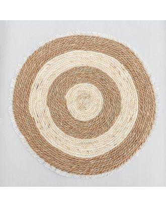 Коврик плетёный «Тори» 60×60 см арт. СМЛ-121893-1-СМЛ0005075246