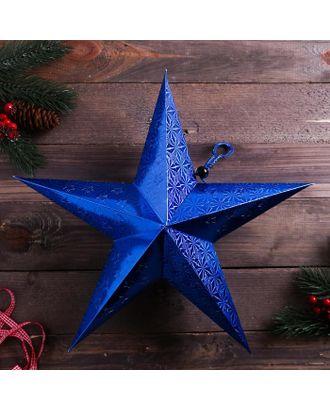 Звезда интерьерная с гирляндой модель G-13 «Северная звезда», 45 х 45 см арт. СМЛ-124128-1-СМЛ0005079139