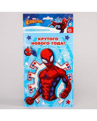 """Мозаика гелевыми стразами """"Крутого Нового года"""" Человек-паук арт. СМЛ-122380-1-СМЛ0005084286"""