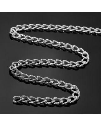 Цепочка без карабина L60см (набор 3шт), А13101 0.22*0.92*1.4, цвет серебро арт. СМЛ-41351-1-СМЛ0005091027