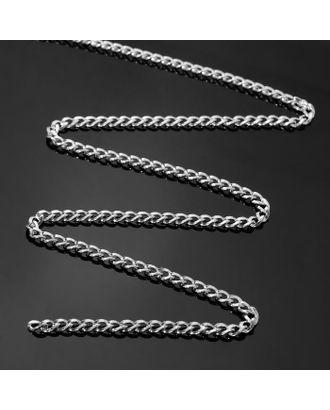 Цепочка без карабина L60см (набор 3шт), А1715 0.11*0.13*0.44*0.7, цвет серебро арт. СМЛ-41363-1-СМЛ0005091039