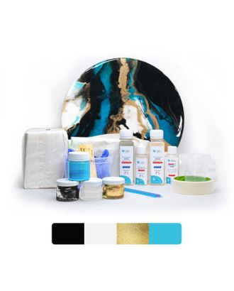 Набор для создания картины из эпоксидной смолы Resin Art №1 арт. СМЛ-35319-1-СМЛ0005097696