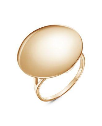 """Кольцо """"Минимал"""" круг, позолота, 19 размер арт. СМЛ-117713-1-СМЛ0005101687"""
